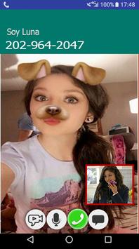 Instant Video Call/live soy luna 2018 poster