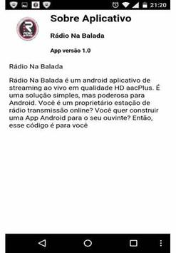 Rádio Na Balada screenshot 1