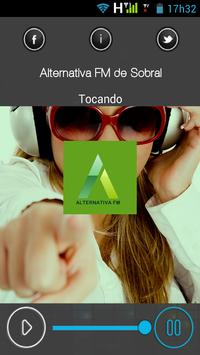 Radio Alternativa FM de Sobral apk screenshot
