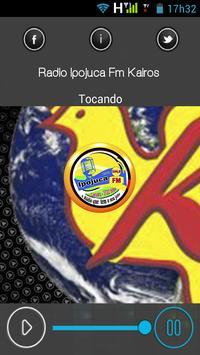 Radio Ipojuca FM KAIROS poster