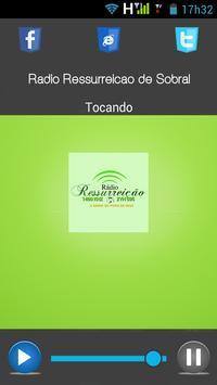 Rádio Ressurreição de Sobral apk screenshot
