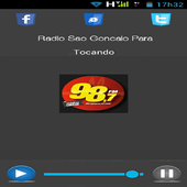 Radio 98 FM Sao Gonçalo Do Para-MG icon