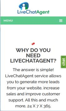 Live Chat Agent poster