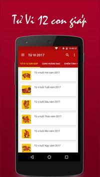 Tử Vi 2017 apk screenshot