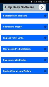 Live Cricket Free apk screenshot