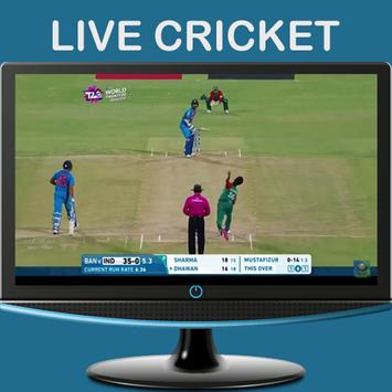 Watch Live Cricket - MobileTV apk screenshot