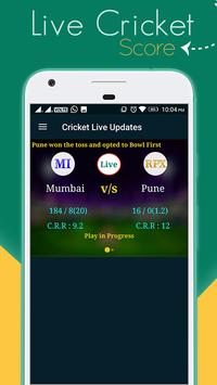 Cricket Live Sport and News poster