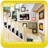 Creative Stairs Decoration Ideas icon
