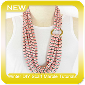 Winter DIY Scarf Marble Tutorials icon