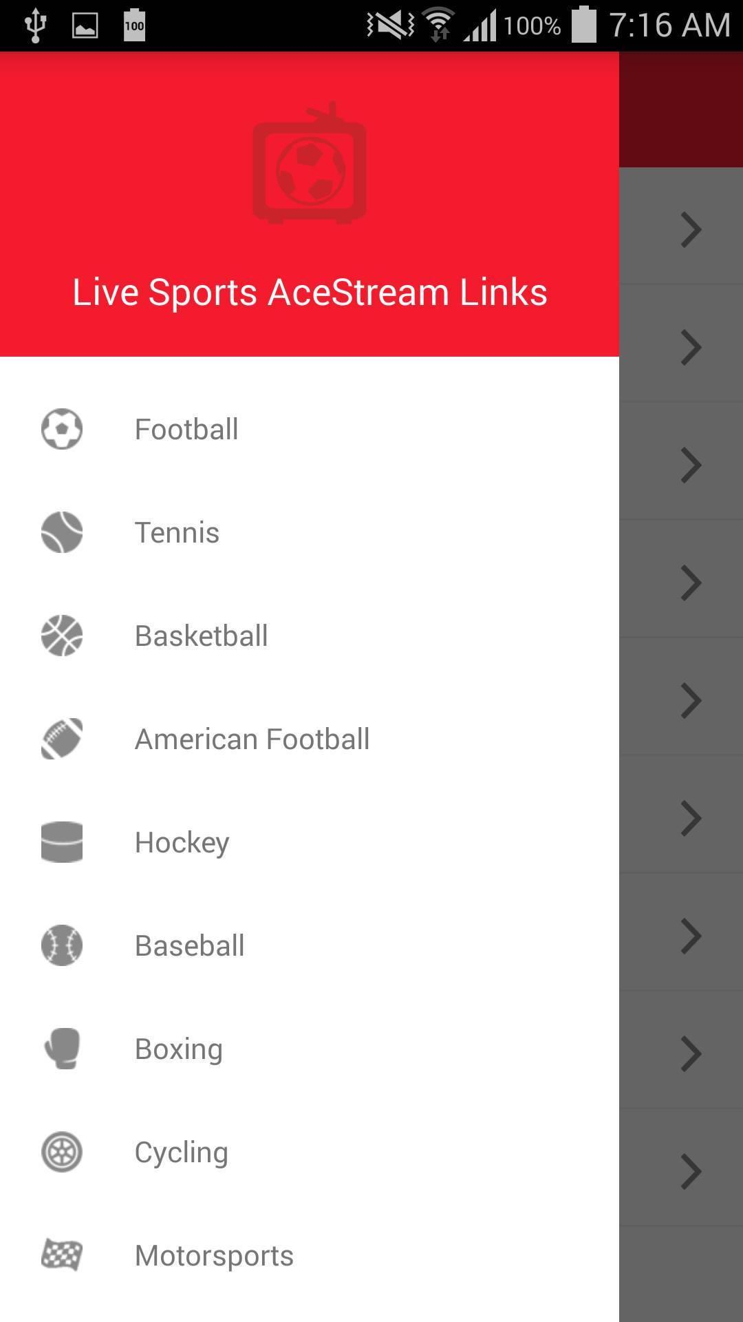 Live Sports AceStream Links for Android - APK Download