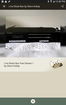Live Ghost Box by Steve Hultay apk screenshot
