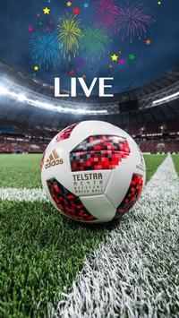 1 Schermata Live Football Score – Stream TV