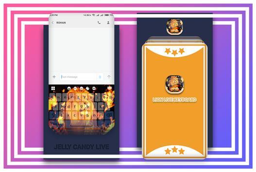 Lion Live Keyboard screenshot 1