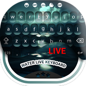 Water Live Keyboard icon