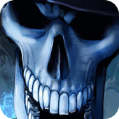 Laughing skull live wallpaper icon