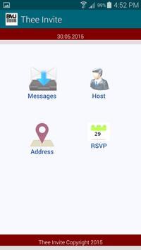 Thee Invite apk screenshot