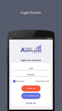 Automatic Airplane Mode poster