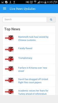 Live News Updates apk screenshot