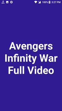 Avengers Infinity War Full Movie Video poster
