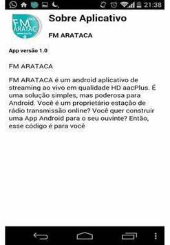 FM ARATACA apk screenshot