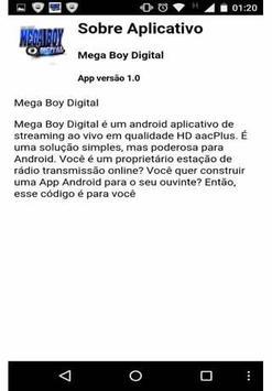 Mega Boy Digital screenshot 1