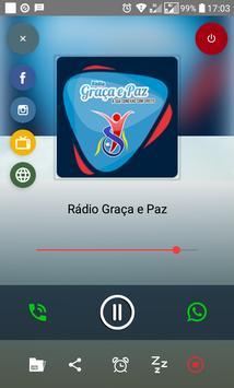 Rádio Graça e Paz RJ poster