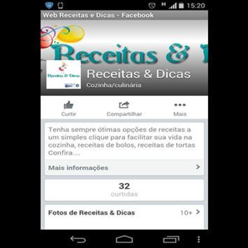 Web Receitas & Dicas screenshot 3
