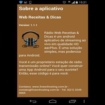 Web Receitas & Dicas screenshot 1
