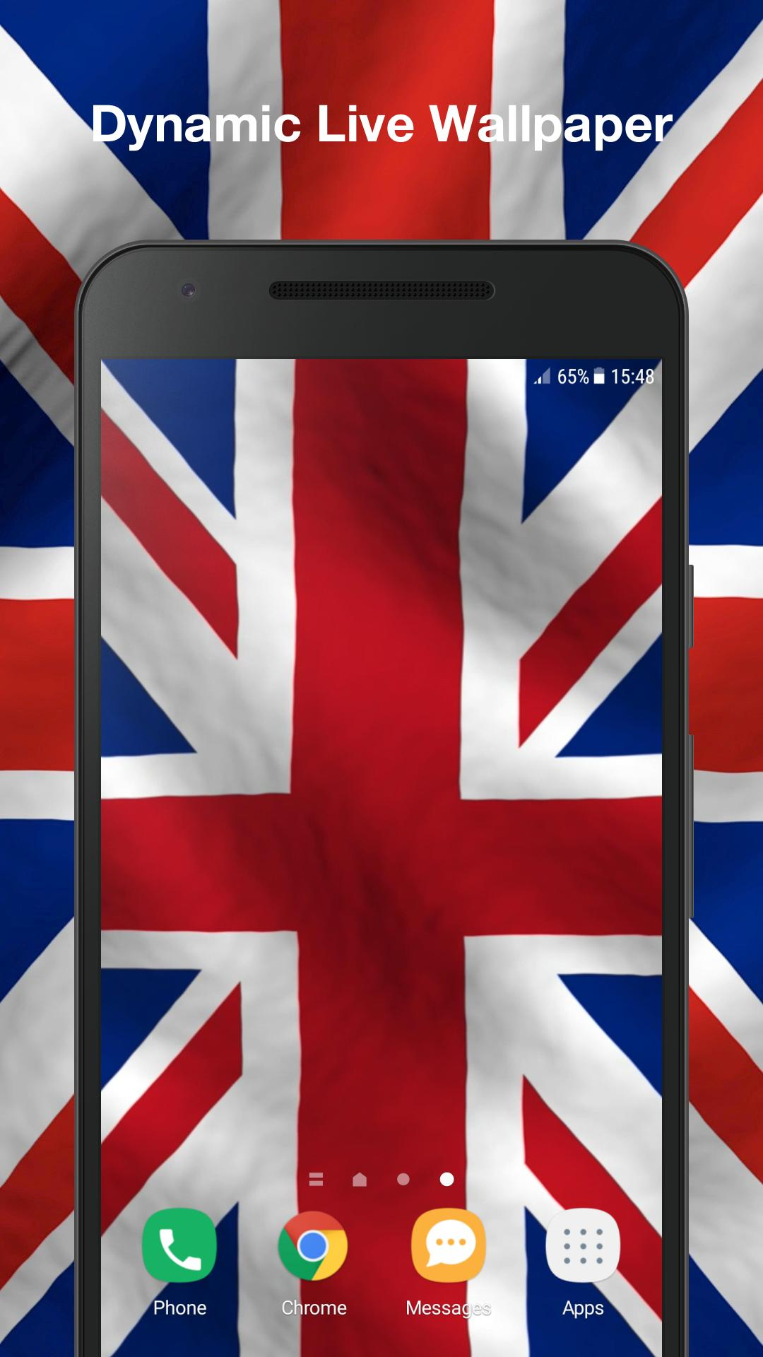 3D UK Flag Live Wallpaper For Android APK Download