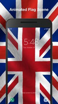 3D UK Flag Live Wallpaper screenshot 2
