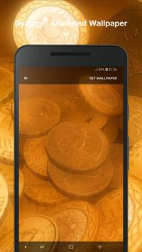Coin Live Wallpaper screenshot 1
