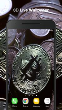 Bitcoin Live Wallpaper apk screenshot