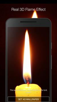 Candle Live Wallpaper screenshot 1