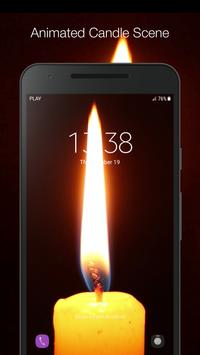 Candle Live Wallpaper screenshot 2