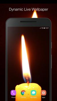 Candle Live Wallpaper screenshot 4