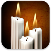 3D Candles Live Wallpaper icon