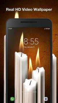3D Candles Live Wallpaper screenshot 2