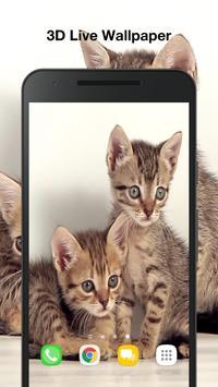 Cute Kittens Live Wallpaper apk screenshot
