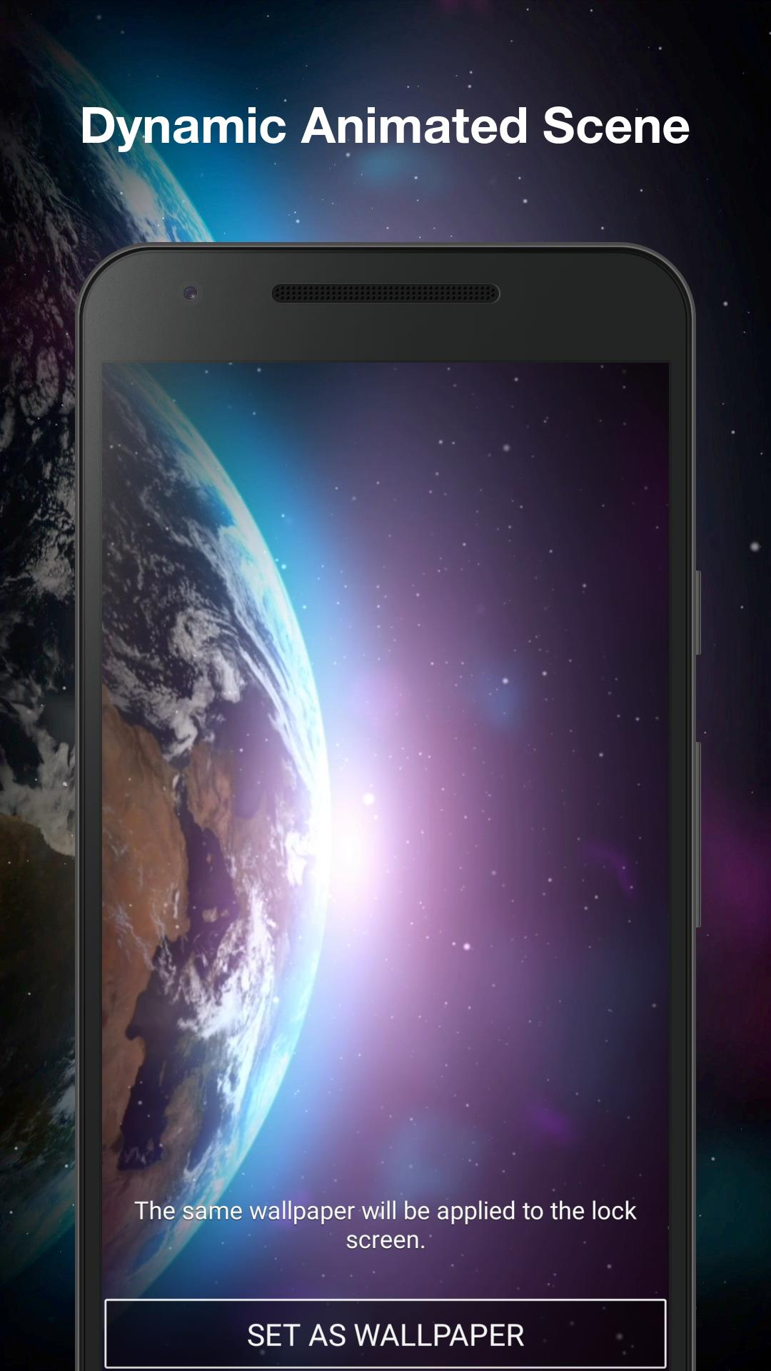 Earth Galaxy Live Wallpaper For Android Apk Download