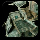 3D Falling Money Live Wallpaper icon