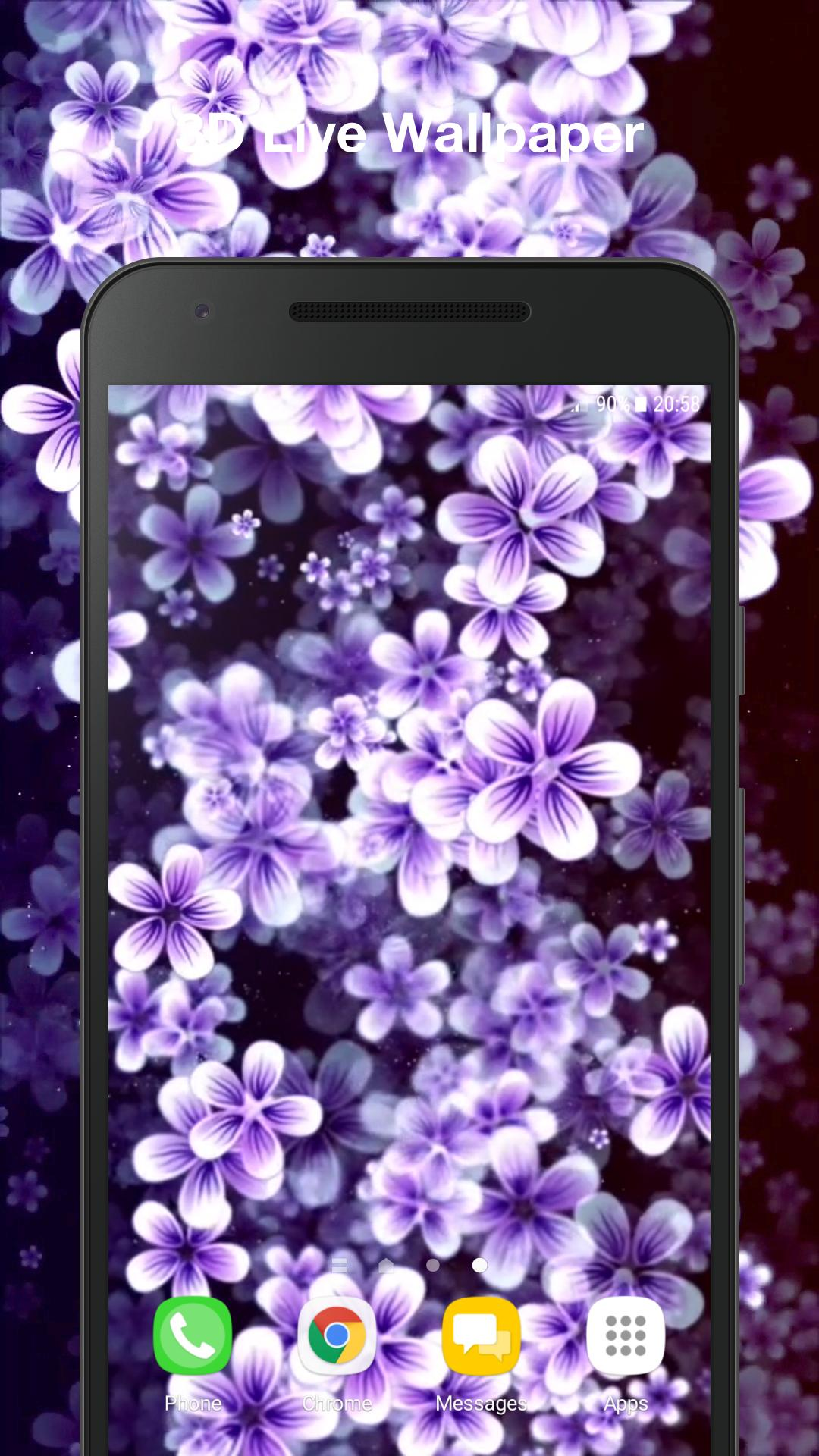 Real 3D Flowers Live Wallpaper For Android APK Download