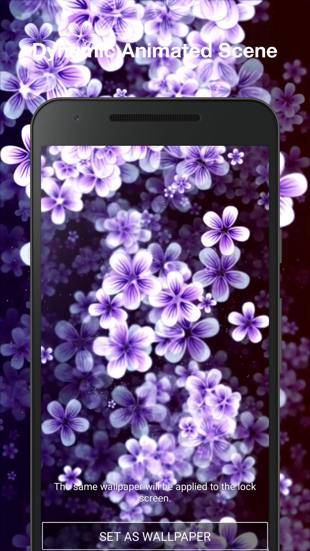 Bunga 3d Wallpaper Animasi For Android Apk Download