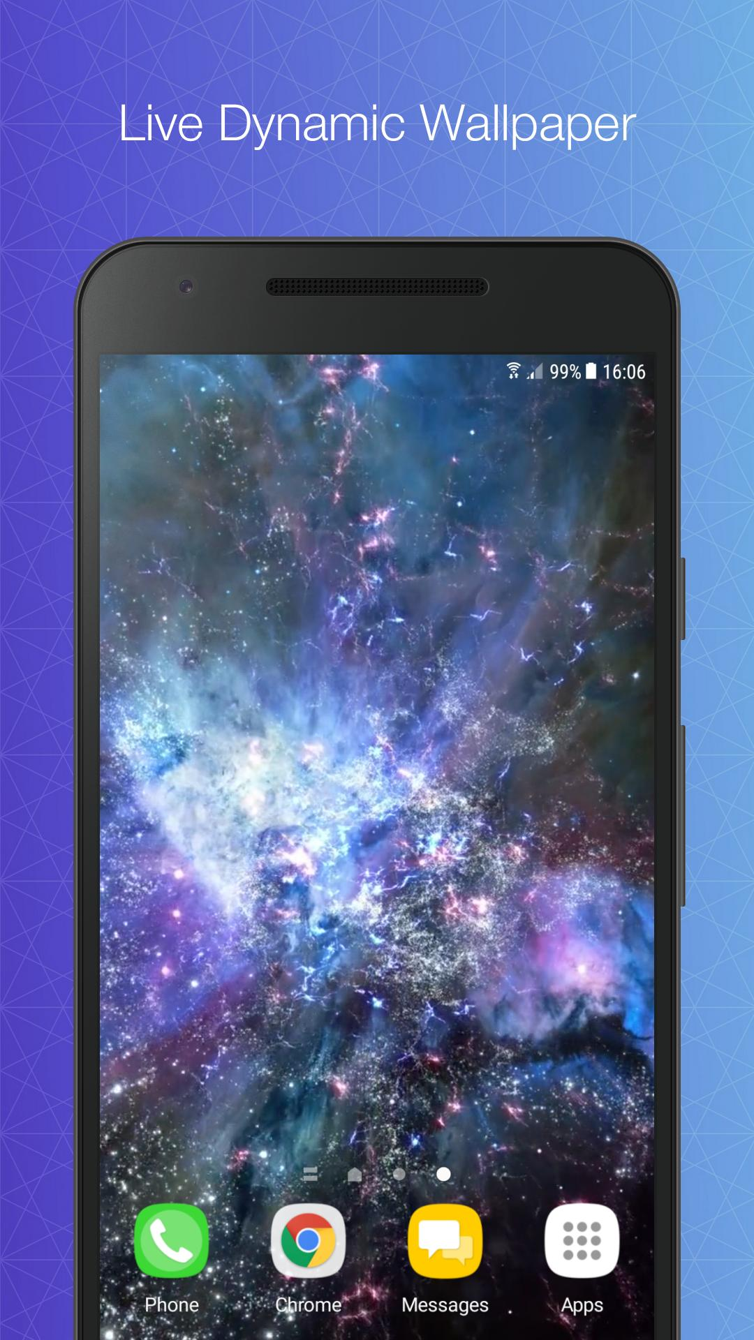 Galaxy Animated Wallpaper For Android Apk Download