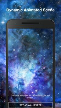 Galaxy Parallax Live Wallpaper apk screenshot