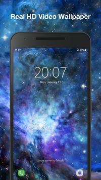 Galaxy Parallax Live Wallpaper screenshot 2
