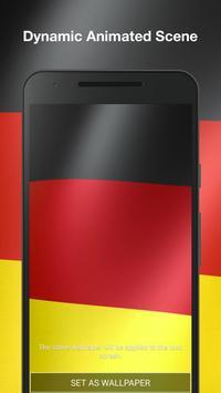 Real Germany Flag Live Wallpaper screenshot 1