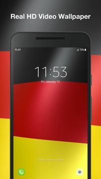 Real Germany Flag Live Wallpaper screenshot 4