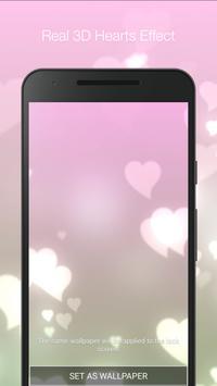 Hearts Live Wallpaper apk screenshot