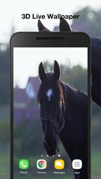 Horses Live Wallpaper poster