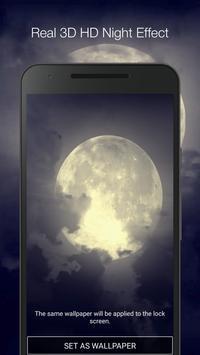 Moon Live Wallpaper screenshot 1